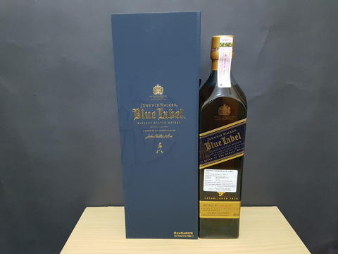J.W. Blue Label / Whisky / Miras Import / Minuman Beralkohol / Original 100%