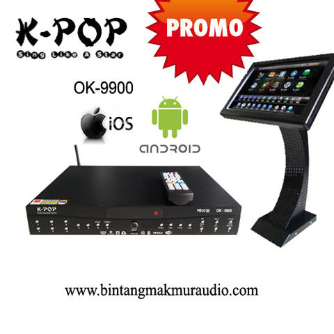 Karaoke Android KPOP OK 9900 + Touch Screen