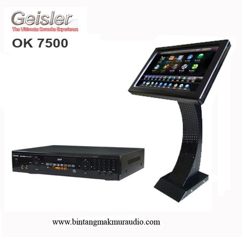 Karaoke Player Geisler OK-7500 + Touch Screen