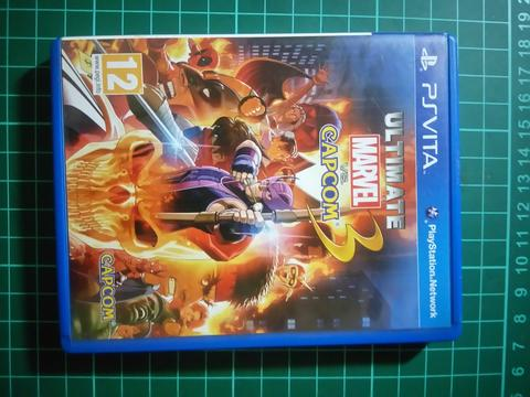 Kaset PS Vita | Ultimate Marvel Vs Capcom 3