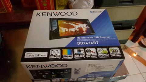 Kenwood DDX416BT Second 99% mulus like new masih garansi