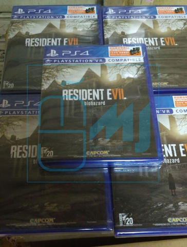 MJ | PS4 Resident Evil 7 R3 / Reg3 | Original Game