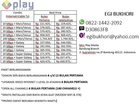 Mnc play media internet & tv kabel special promo