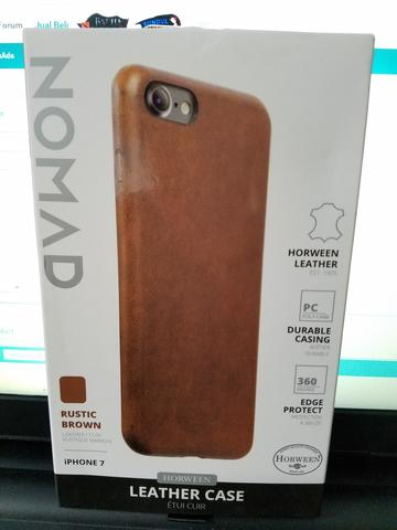 Nomad Horween Leather Case for IPhone 7