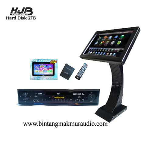 Player Karaoke KJB KJ 007 + KJB LCD-60MkII Touch Screen Monitor