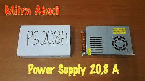 Power Supply 20,8A 12V AC INPUT 170-260V AC 50/60Hz