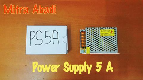 Power Supply 5A 12V NECO AC INPUT 110-260V AC 50/60Hz