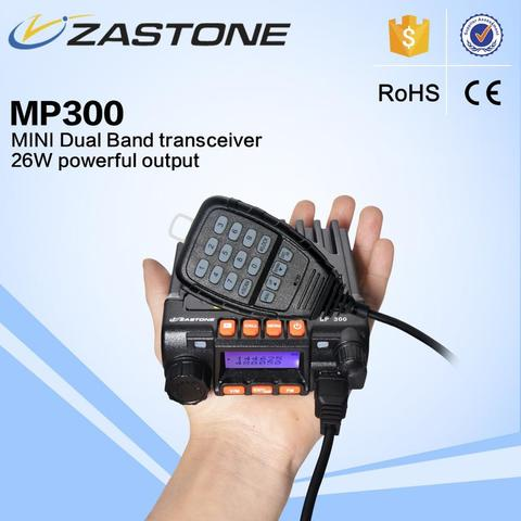Radio RIG Zastone Mp300 mini 22 watts mobile radio Dual Band Baofeng
