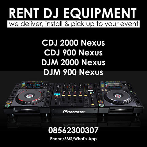 Rental DJ Equipment