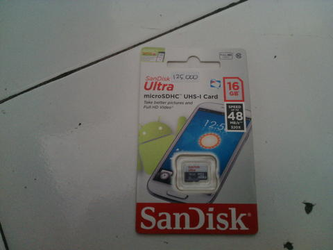 SD Card sandisk 16 GB