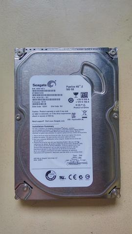 Seagate Desktop HDD 500GB Internal 3.5 Inch Sata PC