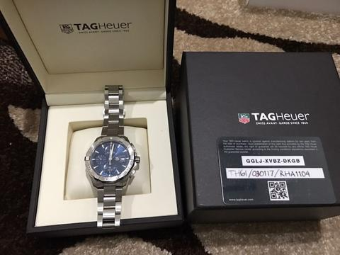 TagHeur Aquaracer 300M Automatic 2016 Original grs 23 bulan Like New
