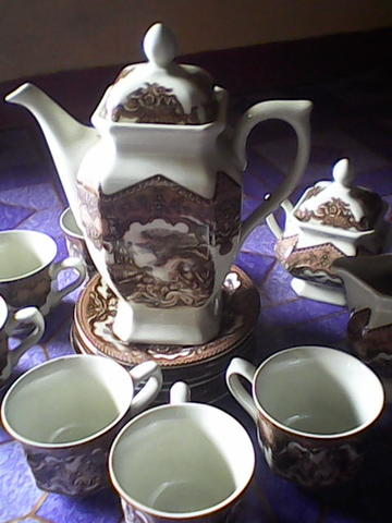Tea Set The Royal Queen's Porcelain