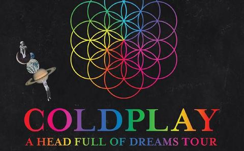 Want to Trade: Tiket Coldplay Singapore Stand Pen A 1 April (2 tiket)