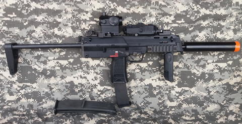 WTS KSC GBB MP7 full accessories