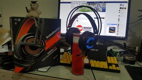 (WTS) Steelseries Siberia 350 Black 2nd Garansi ON Like New 99% !!!