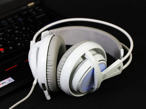 Steelseries Siberia V2 Frost Blue Gaming Headset Headphone