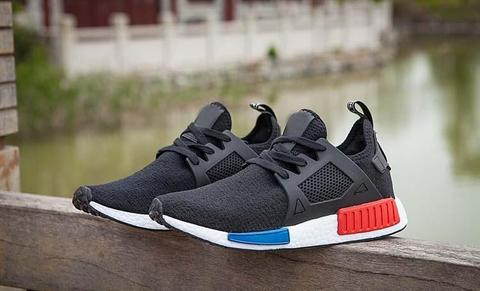sports shoes 37541 dd593 TERJUAL Adidas NMD XR1 - Black Blue Red
