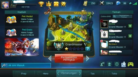 Jual Akun Mobile Legends Level 24