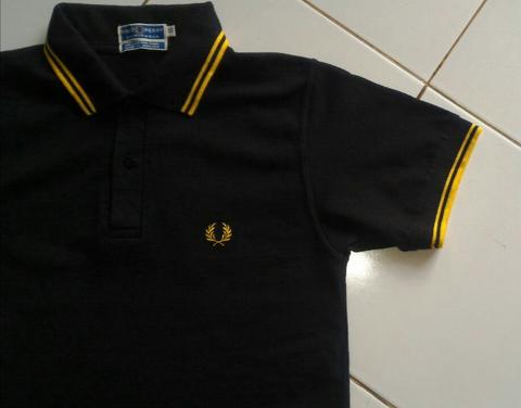 Fredperry fred perry polo shirt twin tipped style M4288SP made in England ed1461b445