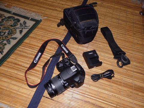 canon eos 1200D+18 55 98% like new mint condition
