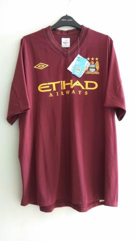 premium selection a0507 b55c0 Jersey Original Manchester City Away 2012/13