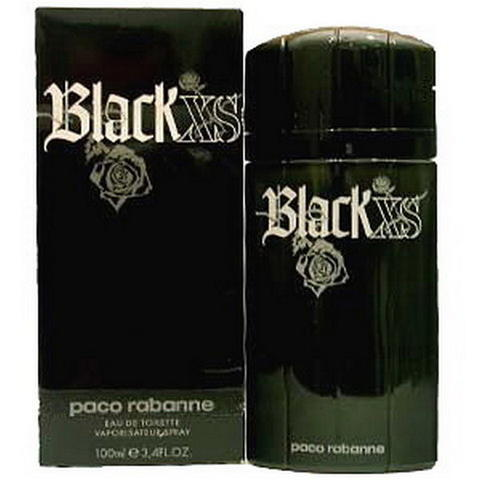 Parfum Ori Bergaransi Paco Rabanne XS Black Men EDT 100ml