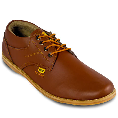 Country Boots Brown Low Top Casual | Low Boots pria | www.pria-ganteng.com