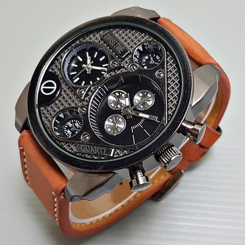 Swiss Army BA405L Leather Brown List White