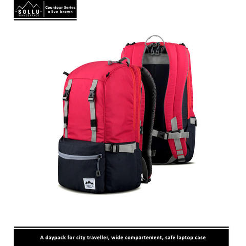 COUNTOUR RED NAVY | SOLLU