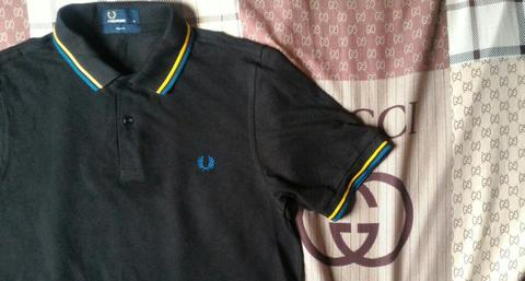 Terjual Fredperry fred perry polo shirt twin tipped style M3600 689 ... 396ceb6051