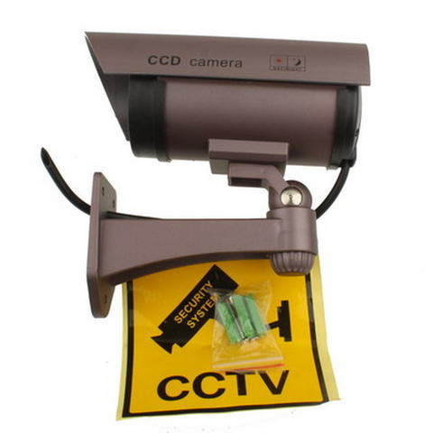 Fake Dummy Wireless Surveillance IR LED Security Camera