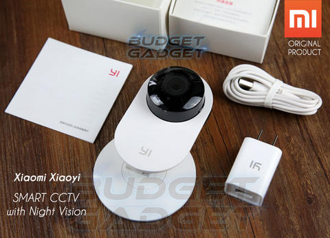 Xiaomi Xiaoyi Smart CCTV Nightvision Camera New Batch 2016