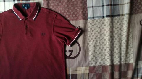 Terjual Fredperry fred perry polo shirt twin tipped style M3600 647 ... d144c72feb