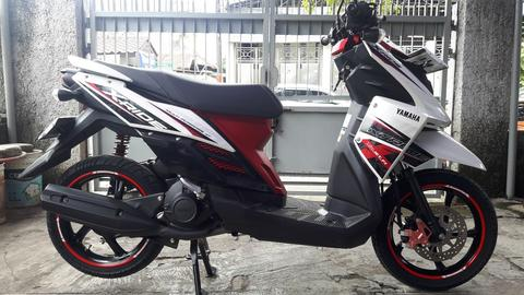 yamaha X Ride CW injection 2016 bln 10 new YM Jet - f1, km 2.500 gress full orisinil