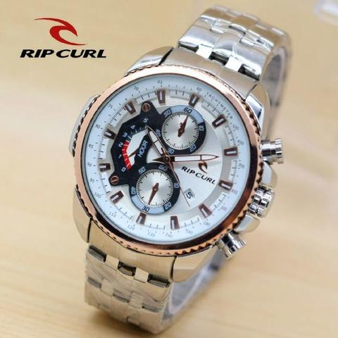 RIPCURL RC06 SILVER RING ROSEGOLD