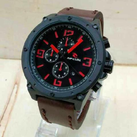 RIPCURL 6070 DARK BROWN RED