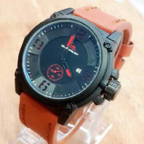 QUIKSILVER 420 BROWN RED