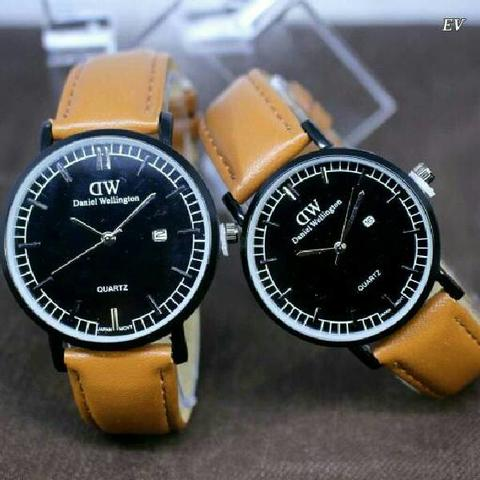 DW COUPLE DW011 BROWN BLACK