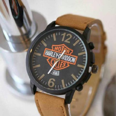 HARLEY DAVIDSON HD017 LIGHT BROWN + BOX EXCLUSIVE