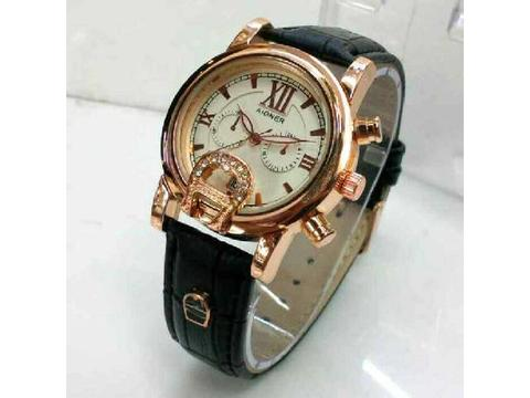 Aigner Romawi A023 Black Rosegold