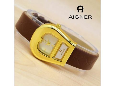 Jam Wanita Aigner A052 Brown Gold