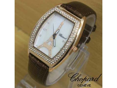GOJEK REKBER*Jam Tangan Chopard Paris 51112 Dark Brown