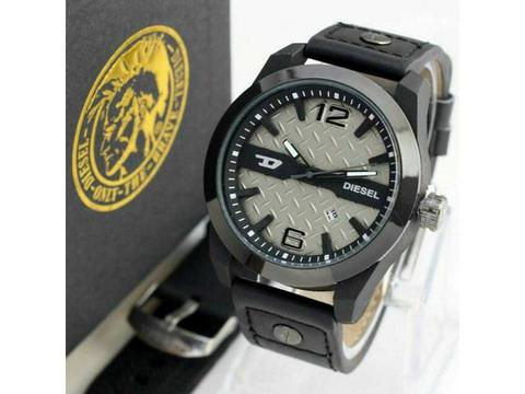 GOJEK REKBER*Jam Tangan Diesel Ds151202 Black Grey + Box Exclusive