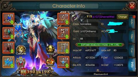 Jual ID LOD Legacy Of Discord VIP15 No Illegal Gem , No Hack Or Refunder