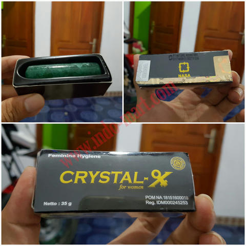 Crystal-X NASA Asli