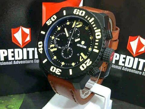 GOJEK REKBER*Jam Tangan Expedition E6393 Brown Black Original