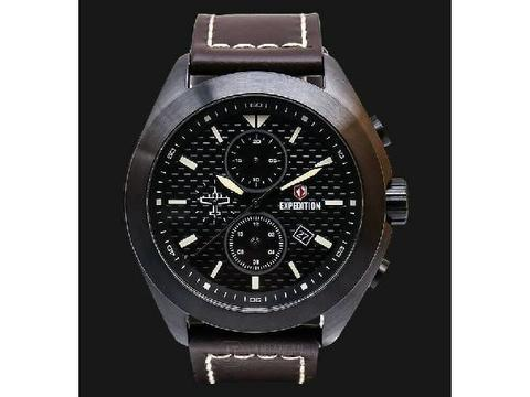 GOJEK REKBER*Jam Tangan Expedition E6689 Dark Brown Black Original