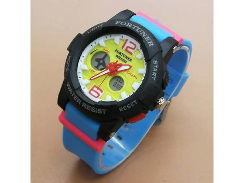 GOJEK REKBER*Jam Tangan Fortuner AD1522 Light Blue Original