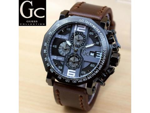 GOJEK REKBER*Jam Tangan GC Chrono Gc017 Darl Brown White